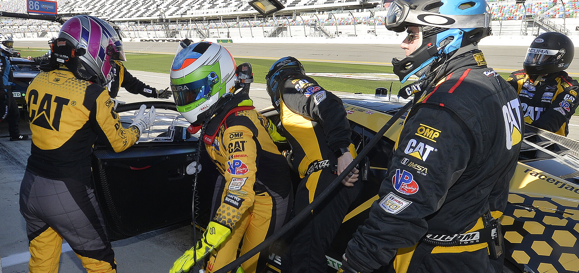 Heinricher Racing has assembled a group of drivers with plenty of experience, race knowl edge and speed on the track